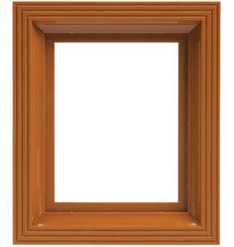 Pixel Hobby Kunststof lijst voor 1 basisplaat (okerbruin)