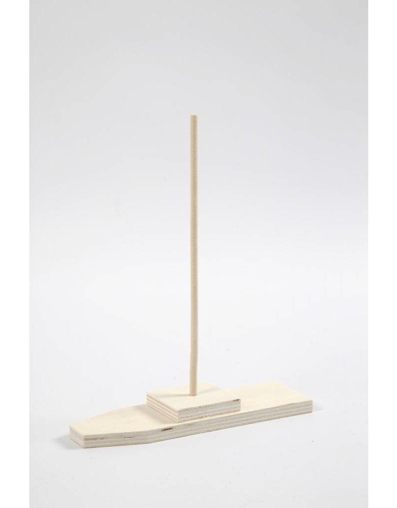 Boot, afm 4,8x14,8 cm, h: 20 cm, per stuk