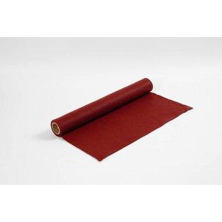 Hobbyvilt, b: 45 cm, dikte 1,5 mm, 1 m, antiek rood