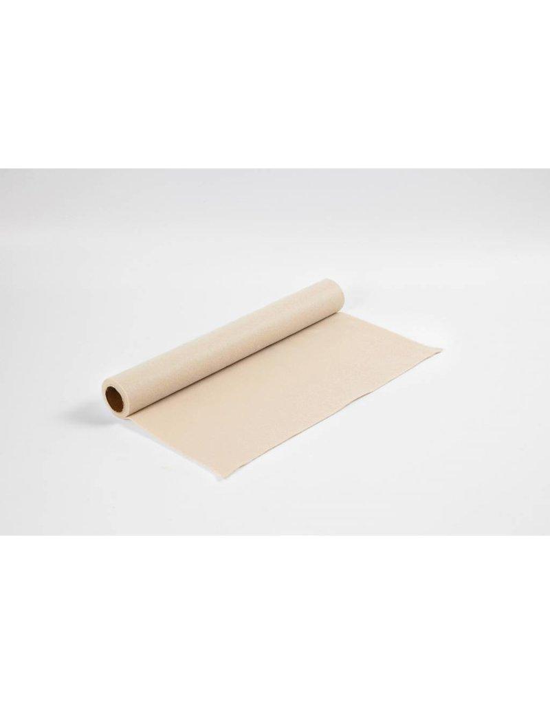 Hobbyvilt, b: 45 cm, dikte 1,5 mm, 1 m, beige