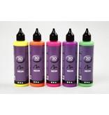3D liner, 5x100 ml, neon kleuren