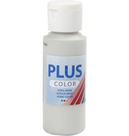 Plus Color acrylverf, 60 ml, light grey