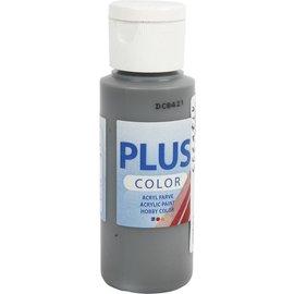 Plus Color acrylverf, 60 ml, dark grey