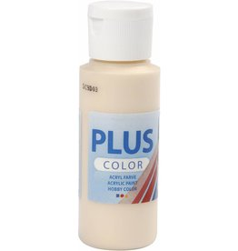 Plus Color acrylverf, 60 ml, ivory light