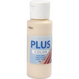 Plus Color acrylverf, 60 ml, ivory light