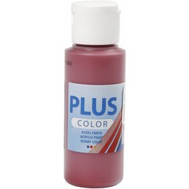 Plus Color acrylverf, 60 ml, antique red