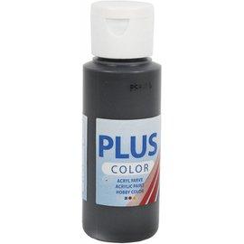Plus Color acrylverf, 60 ml, black