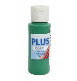 Plus Color acrylverf, 60 ml, brilliant green