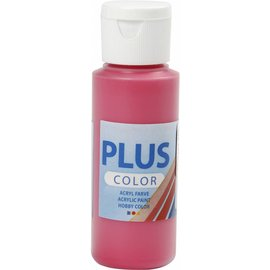 Plus Color acrylverf, 60 ml, primary red