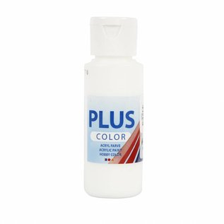 Plus Color acrylverf, 60 ml, white