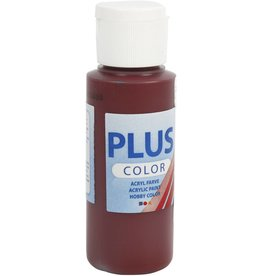 Plus Color acrylverf, 60 ml, bordeaux