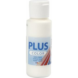 Plus Color acrylverf, 60 ml, off white