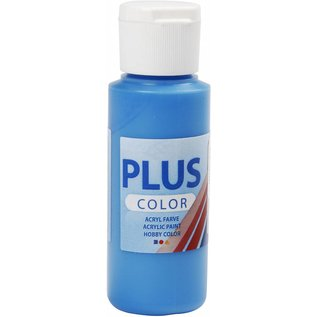 Plus Color acrylverf, 60 ml, primary blue