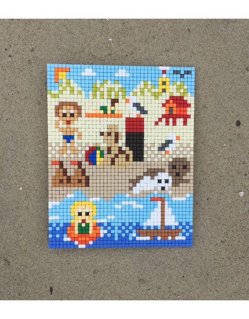Strand tafereel Pixel Classic