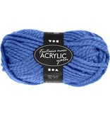Fantasia acrylgaren, l: 35 m, 50 gr, blauw