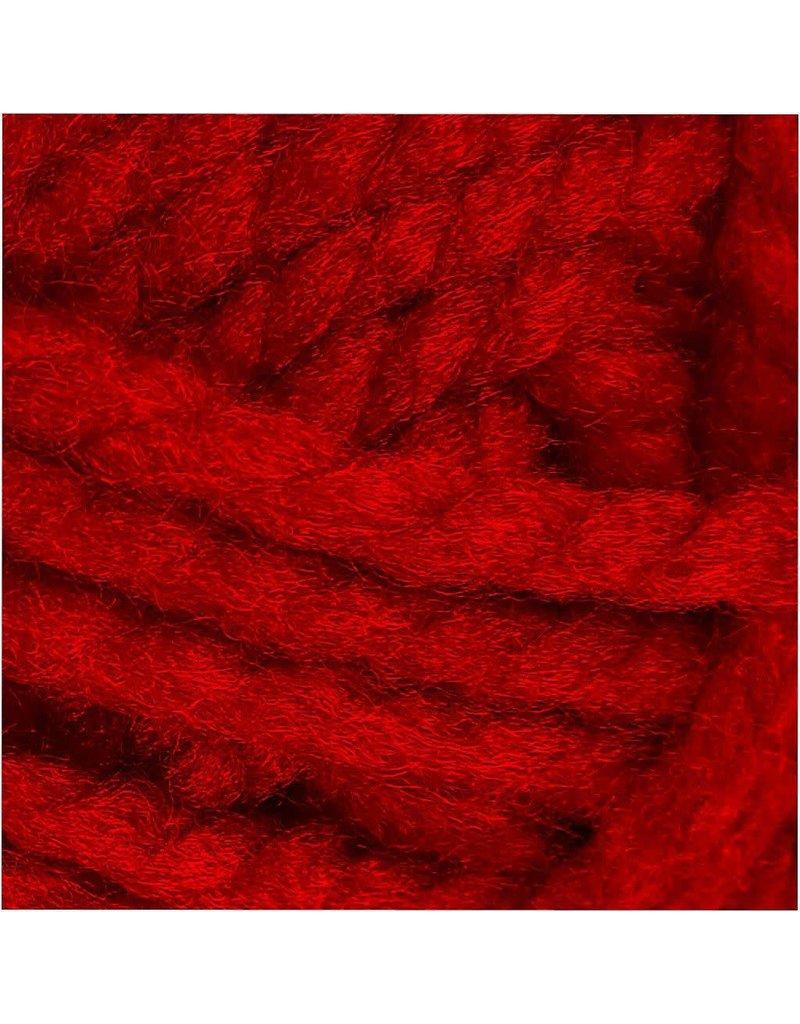 Fantasia acrylgaren, l: 35 m, 50 gr, rood