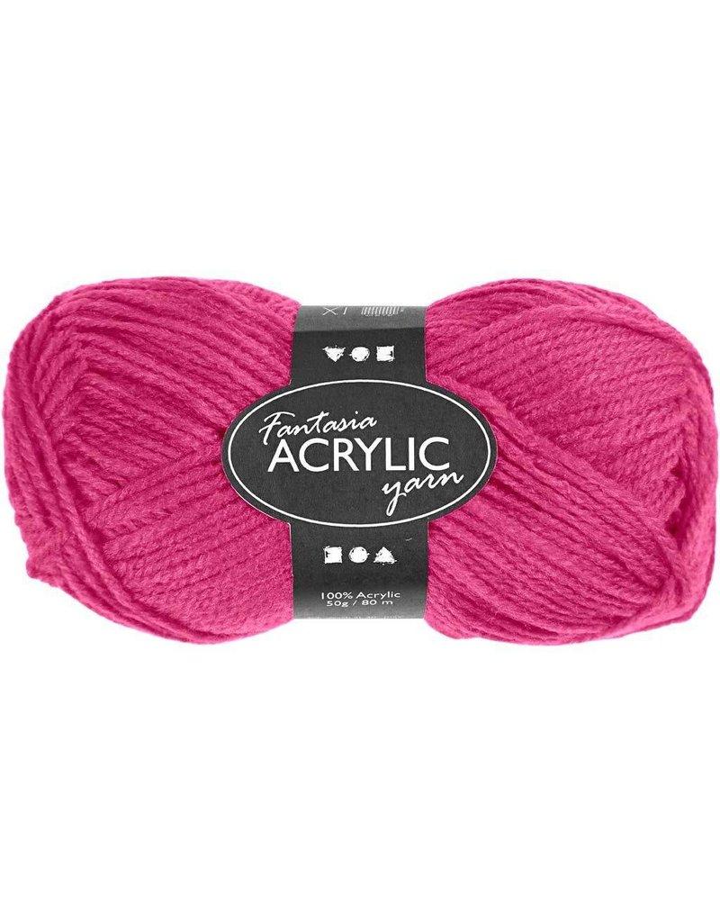Fantasia Garen, l: 80 m, 50 gr, neon roze