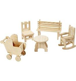 Mini Furniture - Bankje
