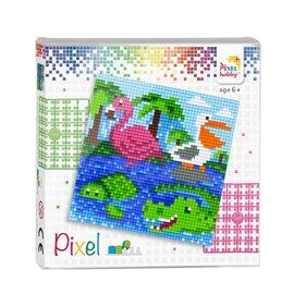 Pixel set  Waterdieren