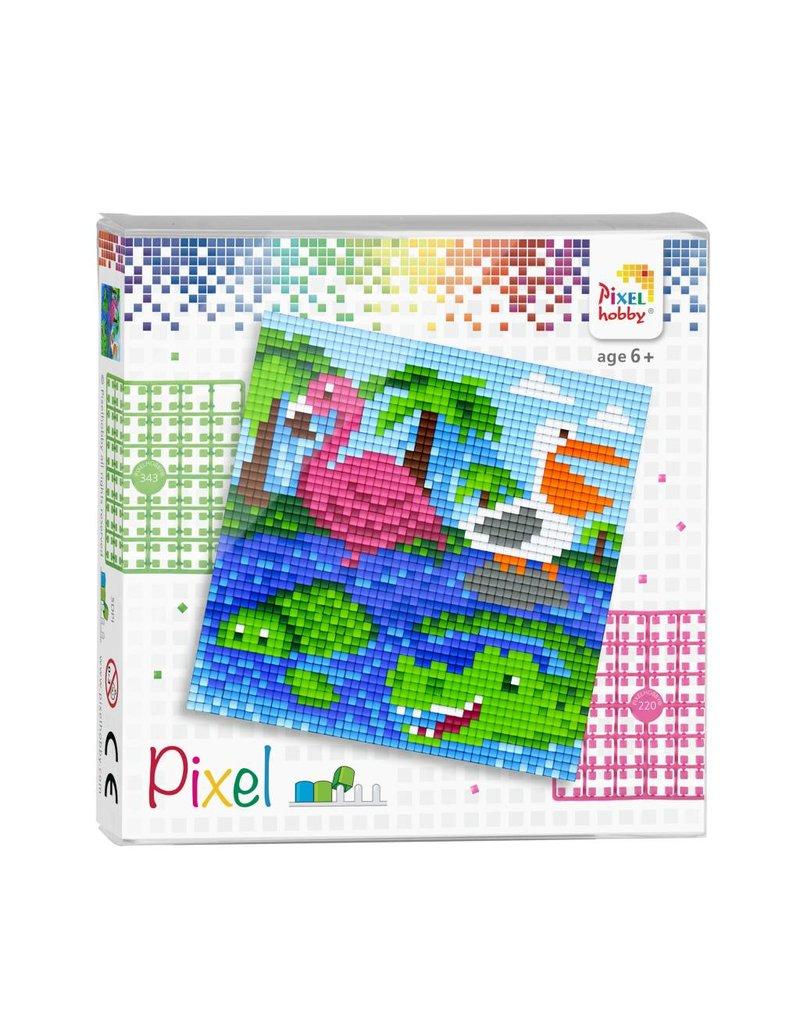 Pixel set - Waterdieren