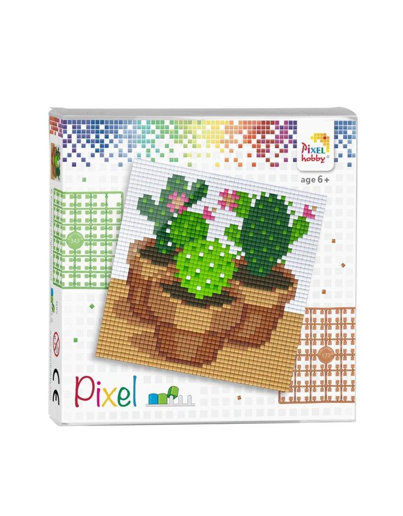 Pixel set - Cactussen