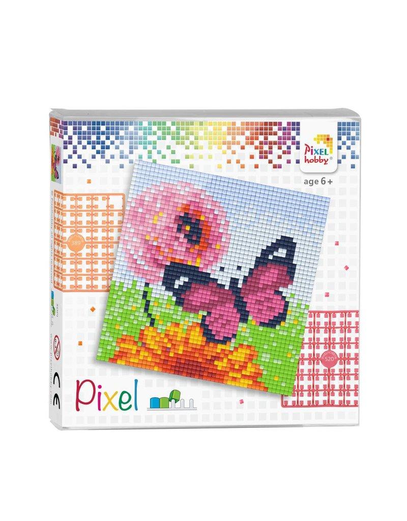 Pixel set - Vlinder