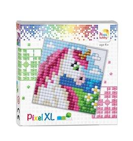Pixel Hobby Pixel XL set  eenhoorn hoofd