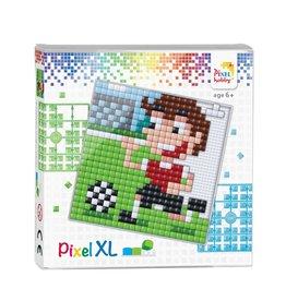 Pixel Hobby Pixel XL set  voetballer