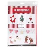DIY Decoratie set, Kerst, 1set