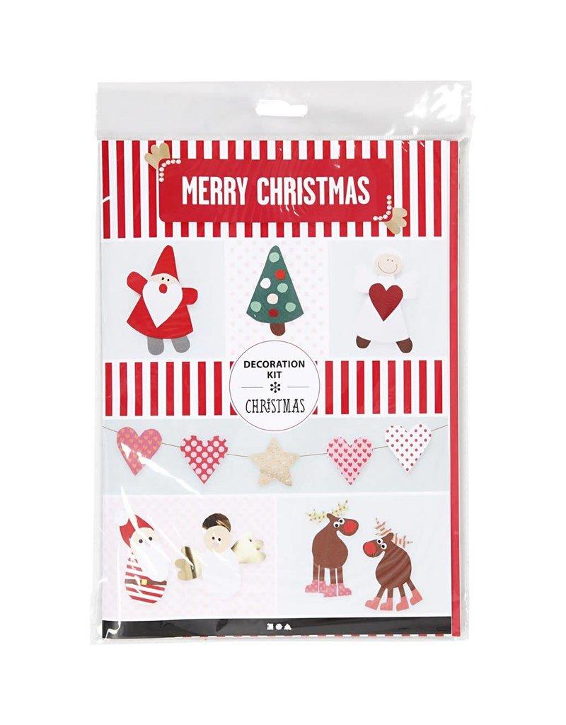 Diy Decoratie Set Kerst 1set Stichting Kaatje Mup