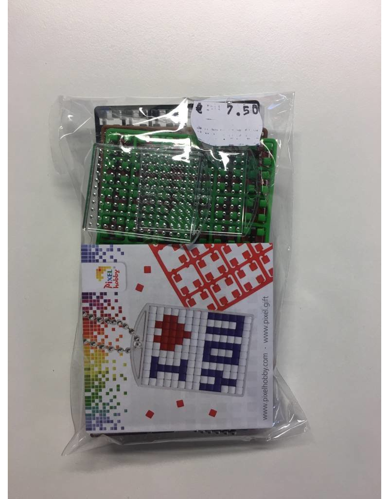 Pixel Hobby Sleutelhanger set