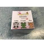 Cutiepix kubus  Coldy, Froggy en Nino