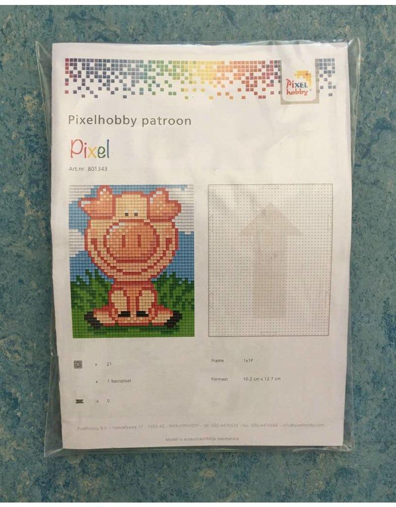 Pixel Hobby Set patroon varkentjeillustratie