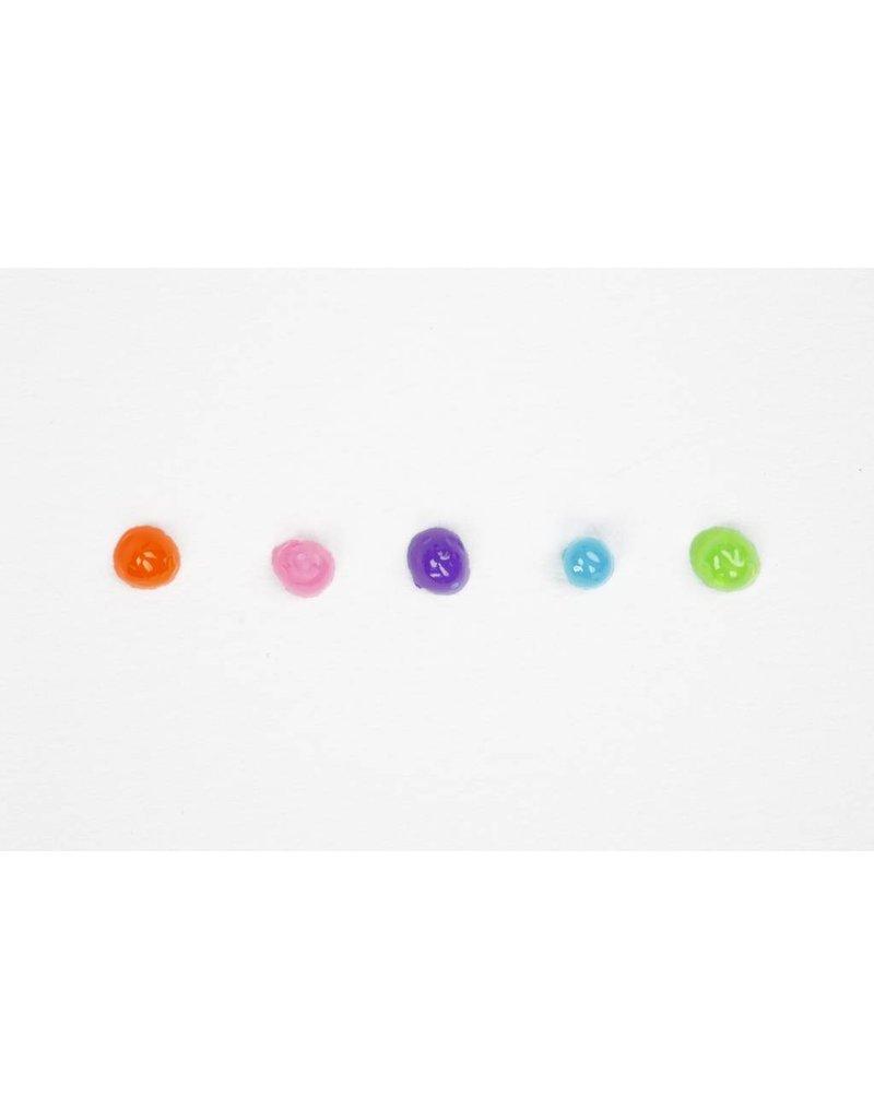 3D liner, 5x100 ml, transparentkleuren