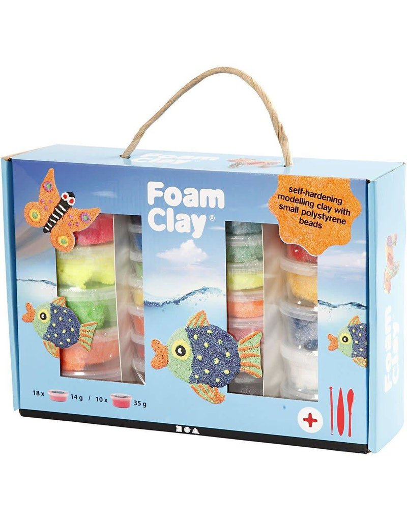 Foam Clay Set, 1 set, kleuren assorti