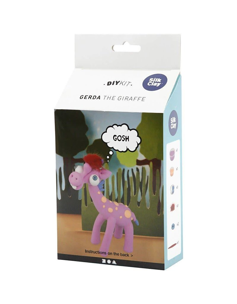 Funny Friends, paars, Gerda the Giraffe, 1set