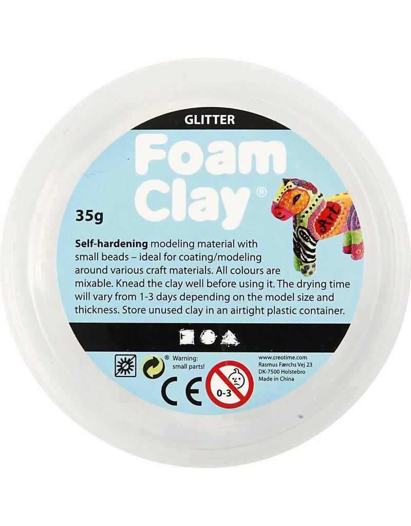 Foam Clay, 35 gr, wit