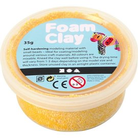 Foam Clay, 35 gr, geel