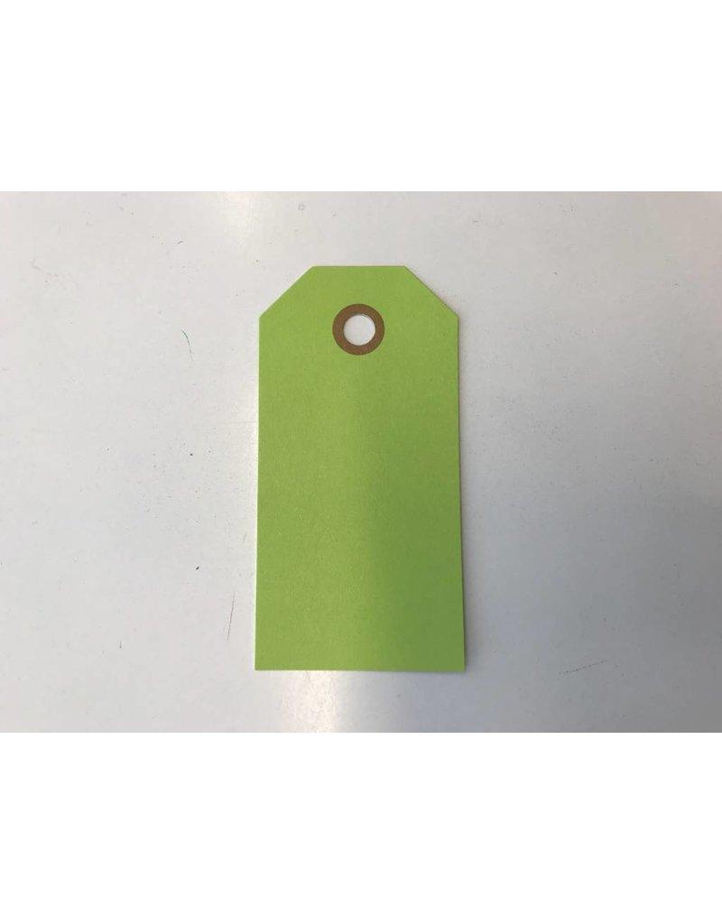 Cadeaulabels, 250 gr, Groen  Groot, per stuk