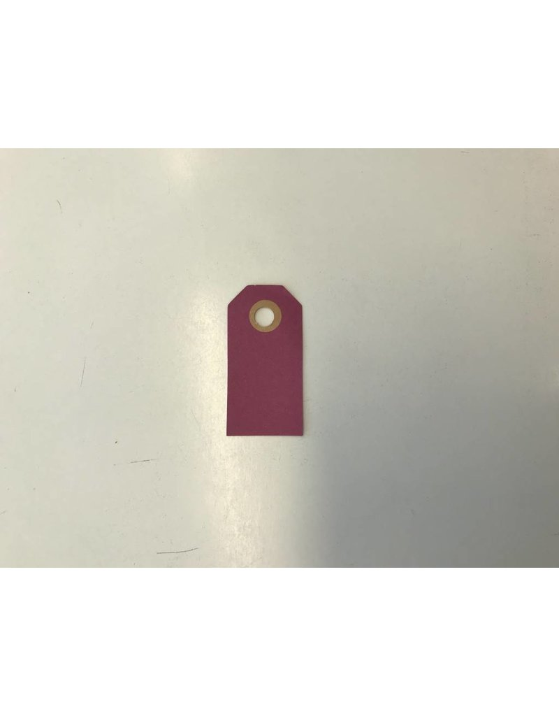 Cadeaulabels, 250 gr, Paars  Klein, per stuk