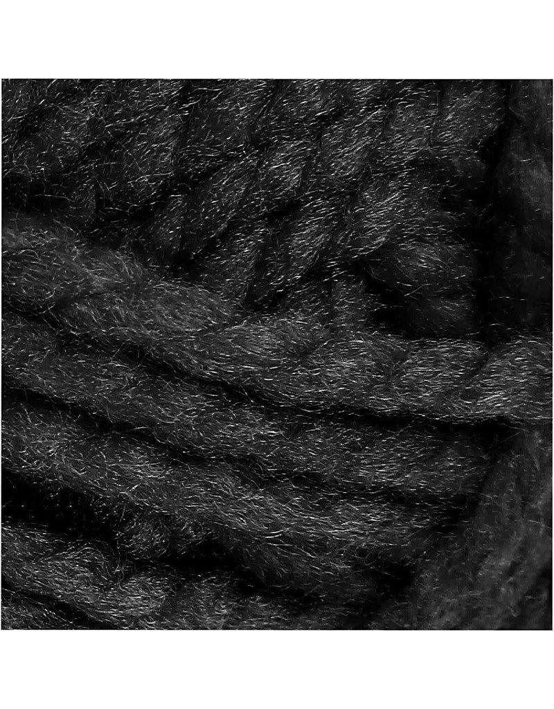 Fantasia acrylgaren, l: 35 m, 50 gr, zwart