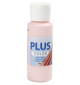 Plus Color acrylverf, 60 ml, soft pink