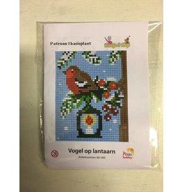 Pixel Hobby Pixel Classic set - Vogel op lantaarn