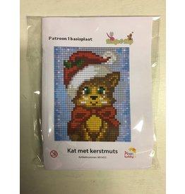 Pixel Hobby Pixel Classic set - Kat met kerstmuts