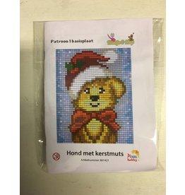 Pixel Hobby Pixel Classic set - Hond met kerstmuts