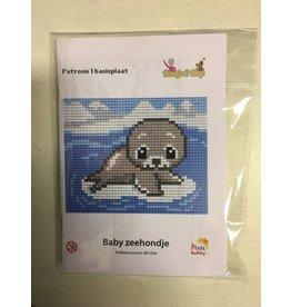 Pixel Hobby Pixel Classic set - Baby zeehondje