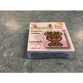 Pixel Hobby Cutiepix 18 Rudy het rendier