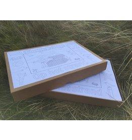Kaatje&Mup Kleurplaat Placemat - Zeehond - Doos 400 stuks