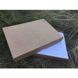 Kaatje&Mup Kleurplaat Placemat - MIX Strand en Kerst - 6x66=396 stuks