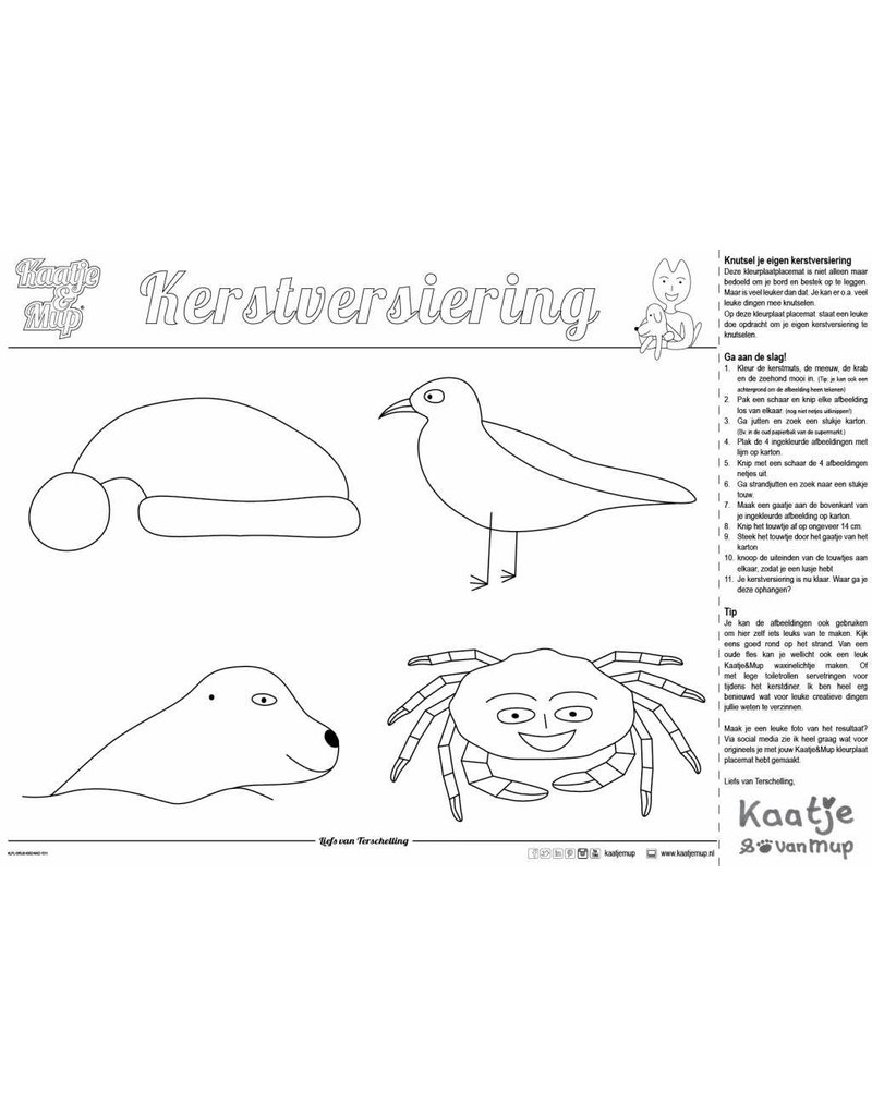 Kleurplaten Rond Kerst.Kleurplaat Placemat Mix Kerst 3x133 399 Stuks Stichting Kaatje Mup